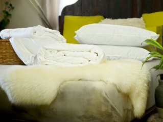 King size all-seasons mulberry silk-filled duvets and 2 silk-filled pillows