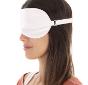 Silk Bedding Direct silk-filled eye mask