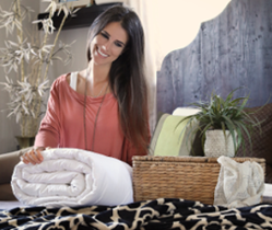 Mulberry silk-filled duvets from Silk Bedding Direct – Premium Range